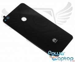 Capac Baterie Huawei Honor 8 Lite Negru Black. Capac Spate Huawei Honor 8 Lite Negru Black