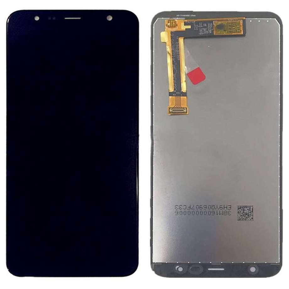 Display Samsung Galaxy J4+ Plus 2018 J415G Display OLED AAA Black Negru imagine powerlaptop.ro 2021