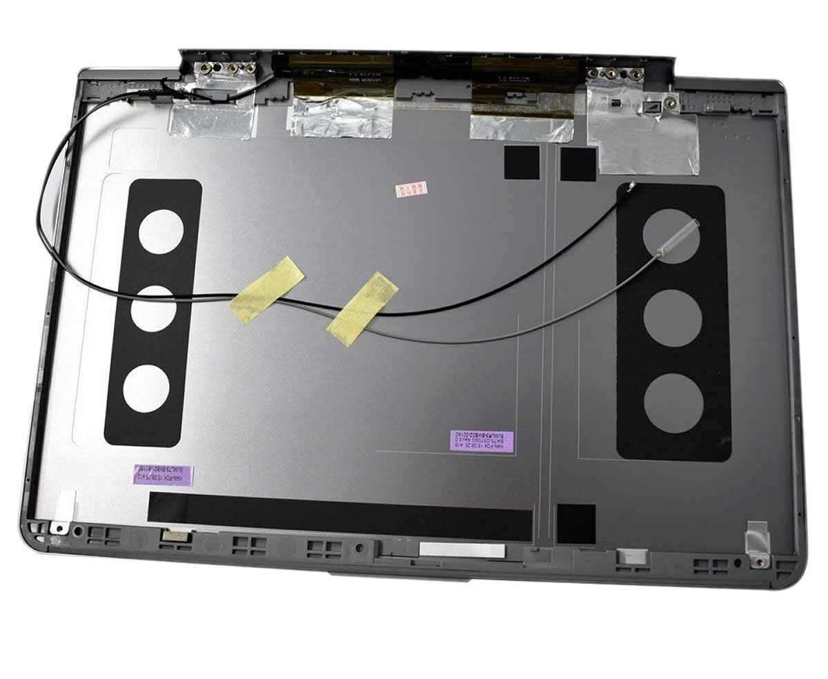 Capac Display BackCover Samsung BA75 03709D Carcasa Display Argintie imagine powerlaptop.ro 2021