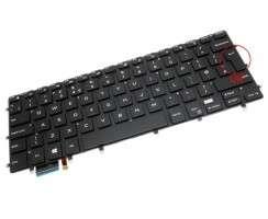 Tastatura Dell 0VC22N iluminata. Keyboard Dell 0VC22N. Tastaturi laptop Dell 0VC22N. Tastatura notebook Dell 0VC22N