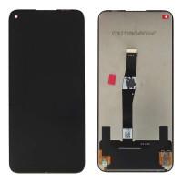 Ansamblu Display LCD + Touchscreen Huawei  Nova 5T Black Negru . Ecran + Digitizer Huawei  Nova 5T Black Negru