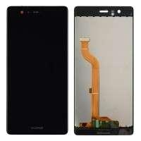 Ansamblu Display LCD + Touchscreen Huawei P9 Dual Sim EVA-L19 Black Negru . Ecran + Digitizer Huawei P9 Dual Sim EVA-L19 Black Negru