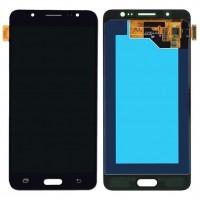 Ansamblu Display LCD + Touchscreen Samsung Galaxy J5 Duos 2016 J510 Black Negru . Ecran + Digitizer Samsung Galaxy J5 Duos 2016 J510 Negru Black