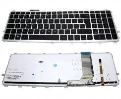 Tastatura HP Envy 17T-J iluminata backlit. Keyboard HP Envy 17T-J iluminata backlit. Tastaturi laptop HP Envy 17T-J iluminata backlit. Tastatura notebook HP Envy 17T-J iluminata backlit