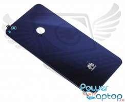 Capac Baterie Huawei P8 Lite 2017 Albastru Blue. Capac Spate Huawei P8 Lite 2017 Albastru Blue