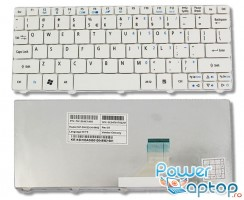 Tastatura Acer Aspire One D257 AOD257 alba. Keyboard Acer Aspire One D257 AOD257 alba. Tastaturi laptop Acer Aspire One D257 AOD257 alba. Tastatura notebook Acer Aspire One D257 AOD257 alba