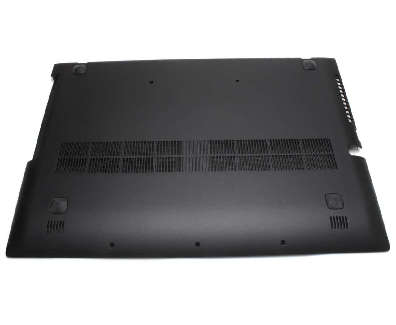 Bottom Case Lenovo AP0SY000450 Carcasa Inferioara Neagra imagine powerlaptop.ro 2021