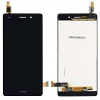 Ansamblu Display LCD + Touchscreen Huawei Ascend P8 Lite 2015 ALE-L21 Black Negru . Ecran + Digitizer Huawei Ascend P8 Lite 2015 ALE-L21 Black Negru