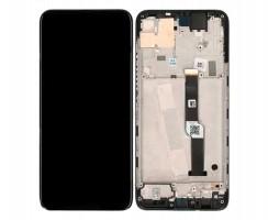 Display Motorola Moto One Fusion Plus Negru cu Rama