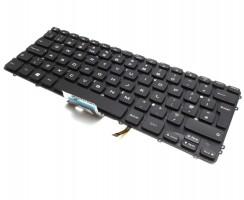 Tastatura Dell HYYWM iluminata. Keyboard Dell HYYWM. Tastaturi laptop Dell HYYWM. Tastatura notebook Dell HYYWM