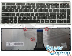 Tastatura Lenovo IdeaPad Z501 Rama gri. Keyboard Lenovo IdeaPad Z501 Rama gri. Tastaturi laptop Lenovo IdeaPad Z501 Rama gri. Tastatura notebook Lenovo IdeaPad Z501 Rama gri