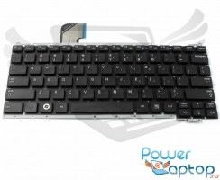 Tastatura Samsung  NP NC110 neagra. Keyboard Samsung  NP NC110. Tastaturi laptop Samsung  NP NC110. Tastatura notebook Samsung  NP NC110