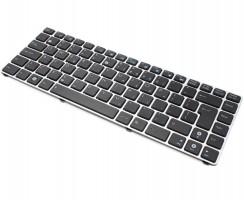 Tastatura Asus EEE PC 1215 neagra cu Rama gri. Keyboard Asus EEE PC 1215 neagra cu Rama gri. Tastaturi laptop Asus EEE PC 1215 neagra cu Rama gri. Tastatura notebook Asus EEE PC 1215 neagra cu Rama gri