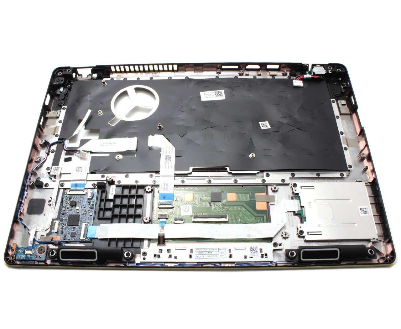 Palmrest Dell Latitude 5495 Negru cu touchpad imagine powerlaptop.ro 2021