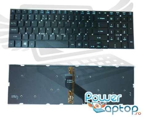 Tastatura Acer  90.4YU07.SOR iluminata backlit. Keyboard Acer  90.4YU07.SOR iluminata backlit. Tastaturi laptop Acer  90.4YU07.SOR iluminata backlit. Tastatura notebook Acer  90.4YU07.SOR iluminata backlit