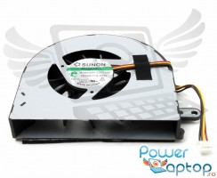 Cooler laptop IBM Lenovo  G500. Ventilator procesor IBM Lenovo  G500. Sistem racire laptop IBM Lenovo  G500