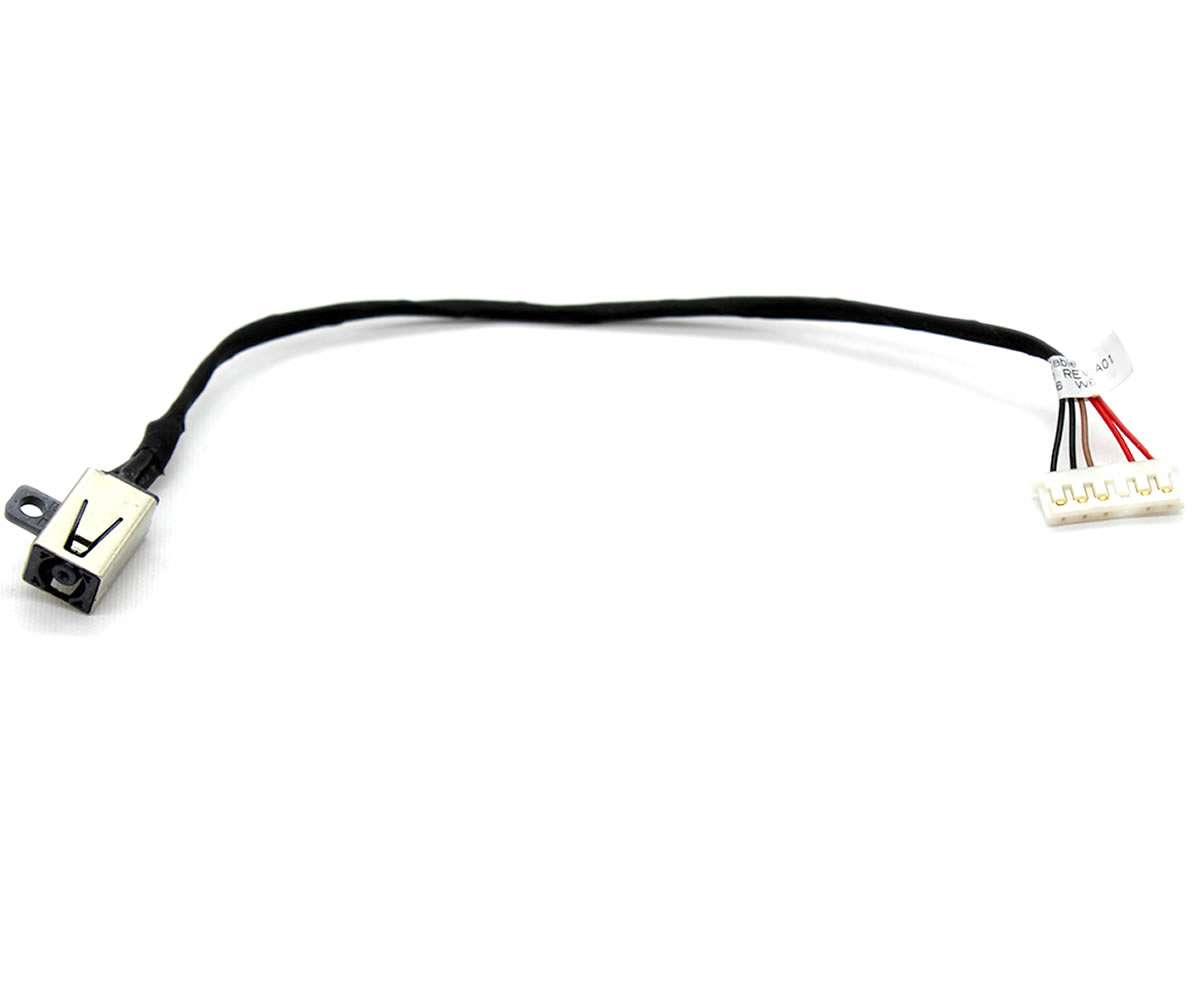Mufa alimentare laptop Dell Inspiron 17 5758 cu fir imagine