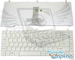 Tastatura MSI  S430X alba. Keyboard MSI  S430X alba. Tastaturi laptop MSI  S430X alba. Tastatura notebook MSI  S430X alba