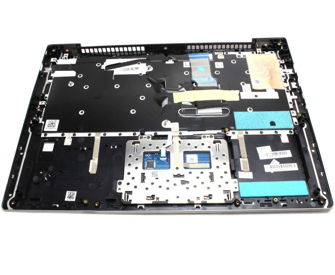 Palmrest Lenovo 5CB0N67323 Gri cu tastatura si touchpad imagine powerlaptop.ro 2021