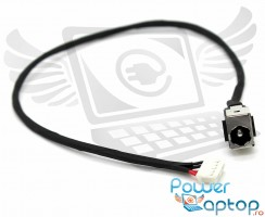 Mufa alimentare Lenovo IdeaPad Z580 cu fir . DC Jack Lenovo IdeaPad Z580 cu fir