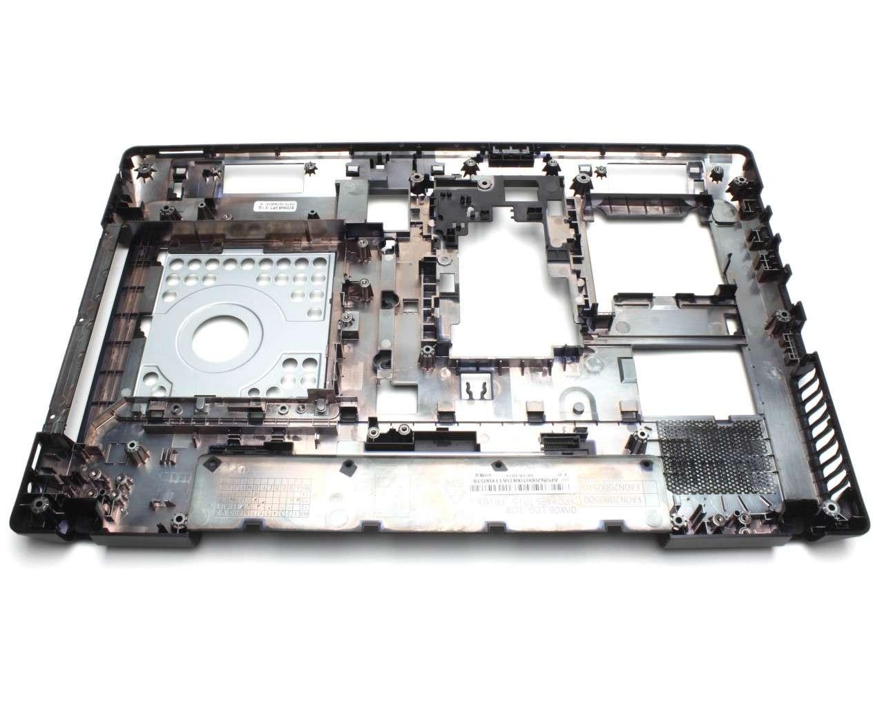 Bottom Case Lenovo QIWG6 Carcasa Inferioara Neagra cu HDMI imagine powerlaptop.ro 2021