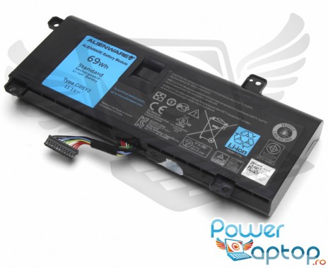 Baterie Alienware  14D-2728 Originala. Acumulator Alienware  14D-2728. Baterie laptop Alienware  14D-2728. Acumulator laptop Alienware  14D-2728. Baterie notebook Alienware  14D-2728