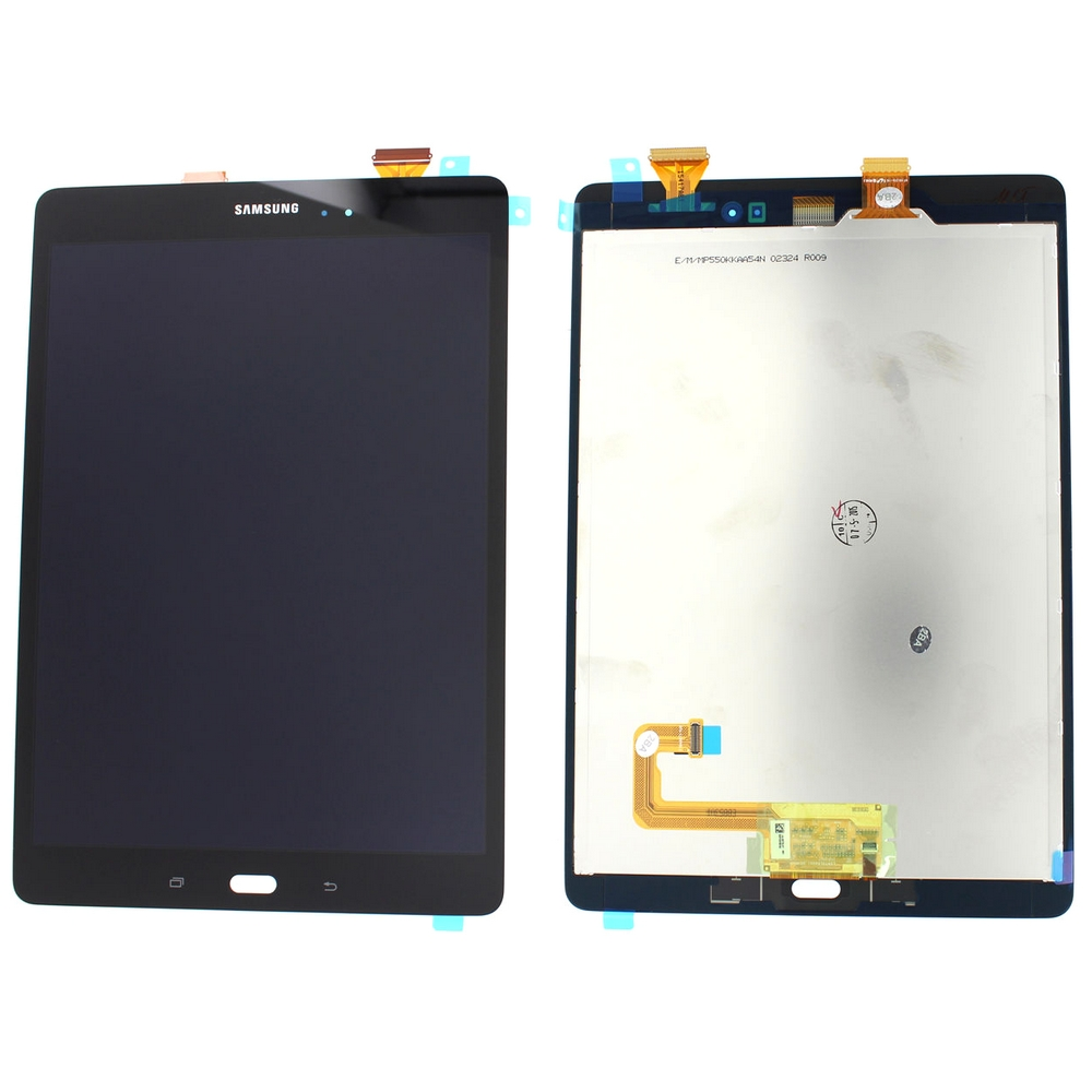Ansamblu LCD Display Touchscreen Samsung Galaxy Tab A 9.7 P550 Negru imagine powerlaptop.ro 2021