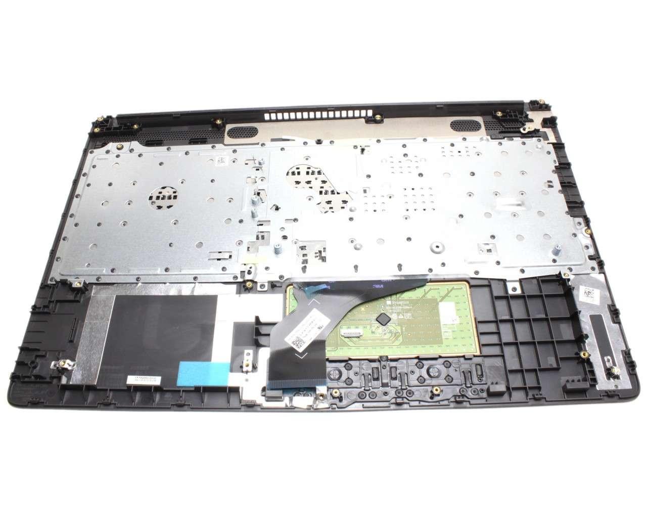 Tastatura HP 15-db0005nq neagra cu Palmrest negru imagine powerlaptop.ro 2021