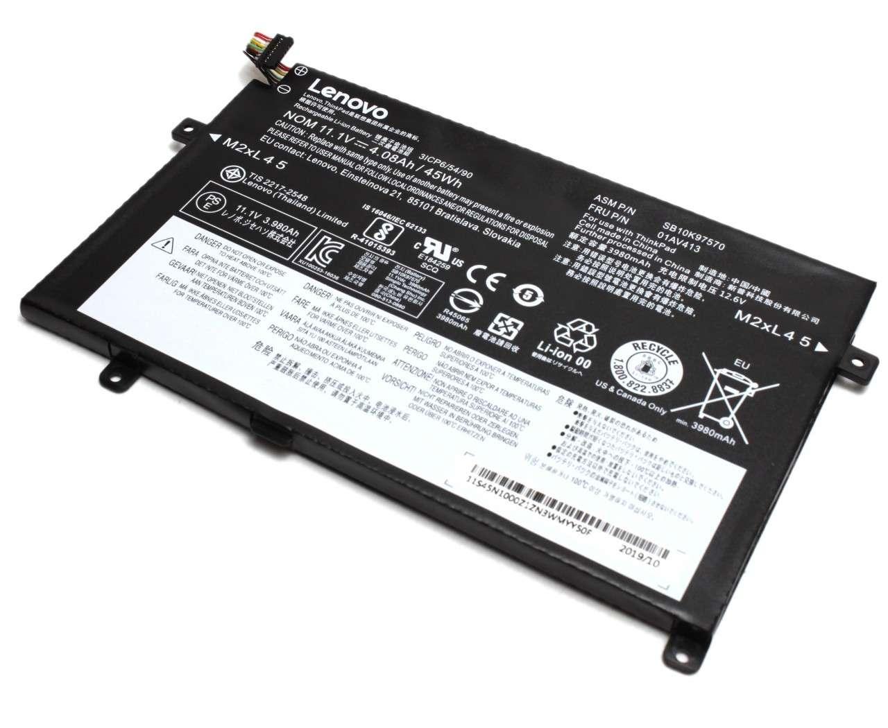 Baterie Lenovo ThinkPad E475 Originala 45Wh imagine