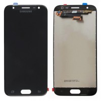 Ansamblu Display LCD + Touchscreen Samsung Galaxy J3 Pro 2017 Black Negru. Ecran + Digitizer Samsung Galaxy J3 Pro 2017 Black Negru