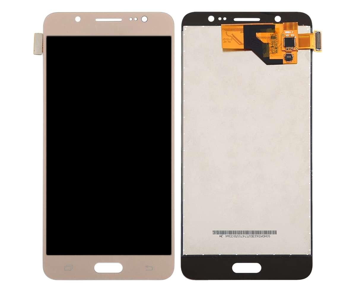 Display Samsung Galaxy J5 Duos 2016 J510 TFT LCD Gold Auriu imagine powerlaptop.ro 2021