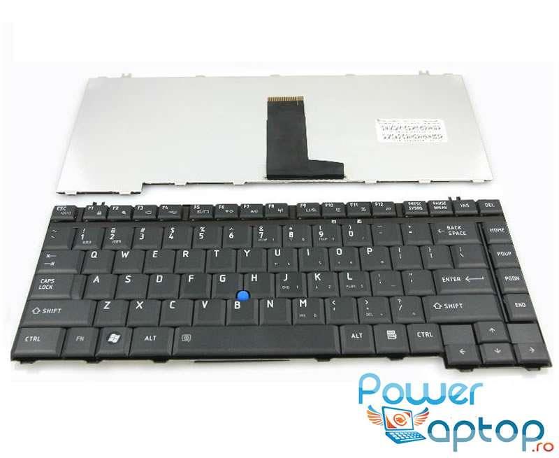 Tastatura Toshiba Satellite Pro S200 neagra imagine