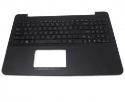 Tastatura Asus  0KNB0-610MIT00 cu Palmrest negru. Keyboard Asus  0KNB0-610MIT00 cu Palmrest negru. Tastaturi laptop Asus  0KNB0-610MIT00 cu Palmrest negru. Tastatura notebook Asus  0KNB0-610MIT00 cu Palmrest negru