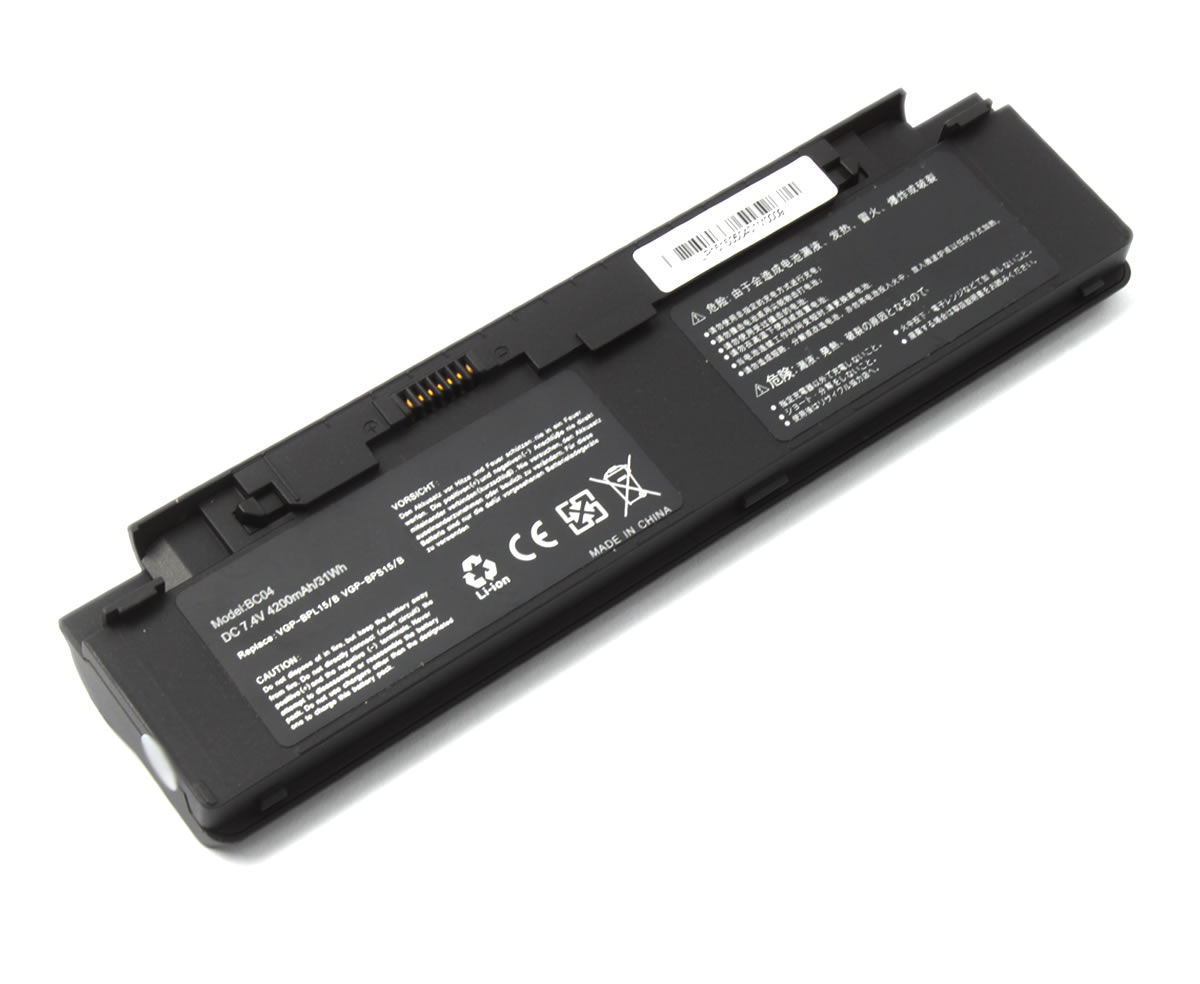Baterie Sony Vaio VGN P588E Q 4 celule imagine powerlaptop.ro 2021