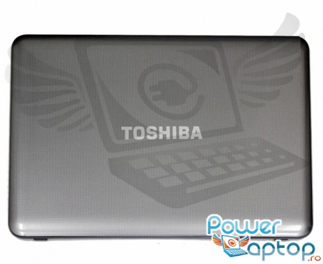 Carcasa Display Toshiba Satellite C855D. Cover Display Toshiba Satellite C855D. Capac Display Toshiba Satellite C855D Gri