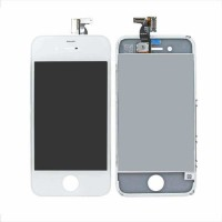 Ansamblu Display LCD + Touchscreen Apple iPhone 4 Alb White . Ecran + Digitizer Apple iPhone 4 Alb White