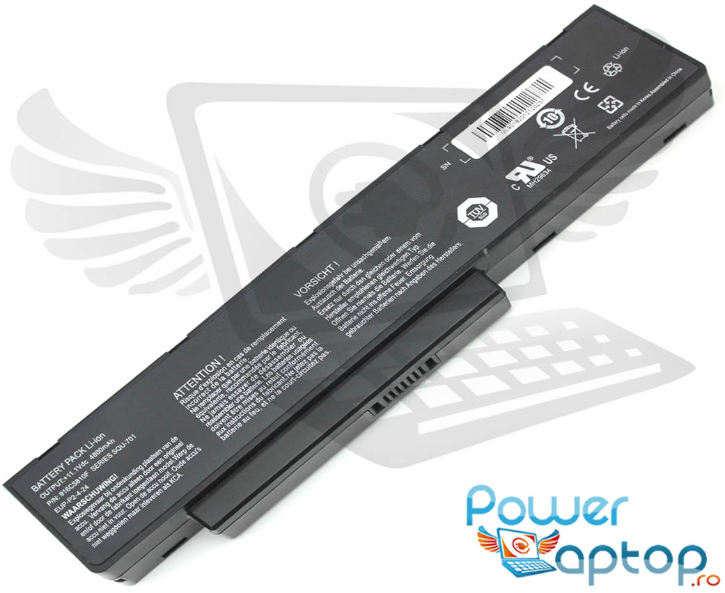 Baterie Packard Bell EasyNote MH45 imagine powerlaptop.ro 2021