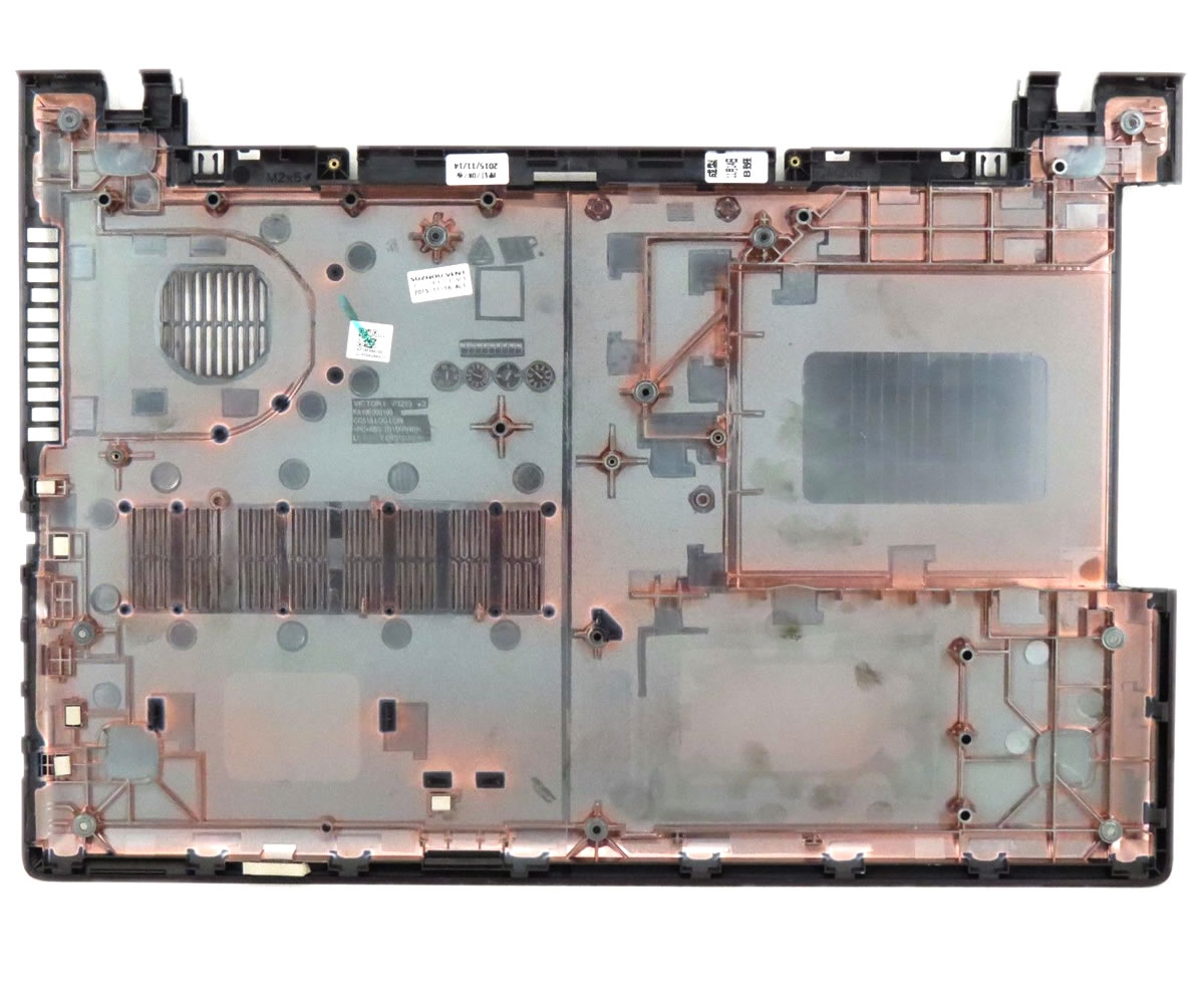 Bottom Case Lenovo FA10E000100 Carcasa Inferioara Neagra imagine powerlaptop.ro 2021