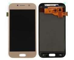 Ansamblu Display LCD + Touchscreen Samsung Galaxy A5 2017 A520 A520F TFT LCD Gold Auriu . Ecran + Digitizer Samsung Galaxy A5 2017 A520 A520F TFT LCD Gold Auriu