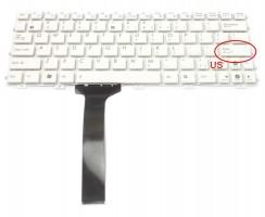 Tastatura Asus Eee PC 1015BX alba. Keyboard Asus Eee PC 1015BX. Tastaturi laptop Asus Eee PC 1015BX. Tastatura notebook Asus Eee PC 1015BX