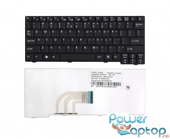 Tastatura Acer Aspire One 10.1'' neagra. Tastatura laptop Acer Aspire One 10.1'' neagra