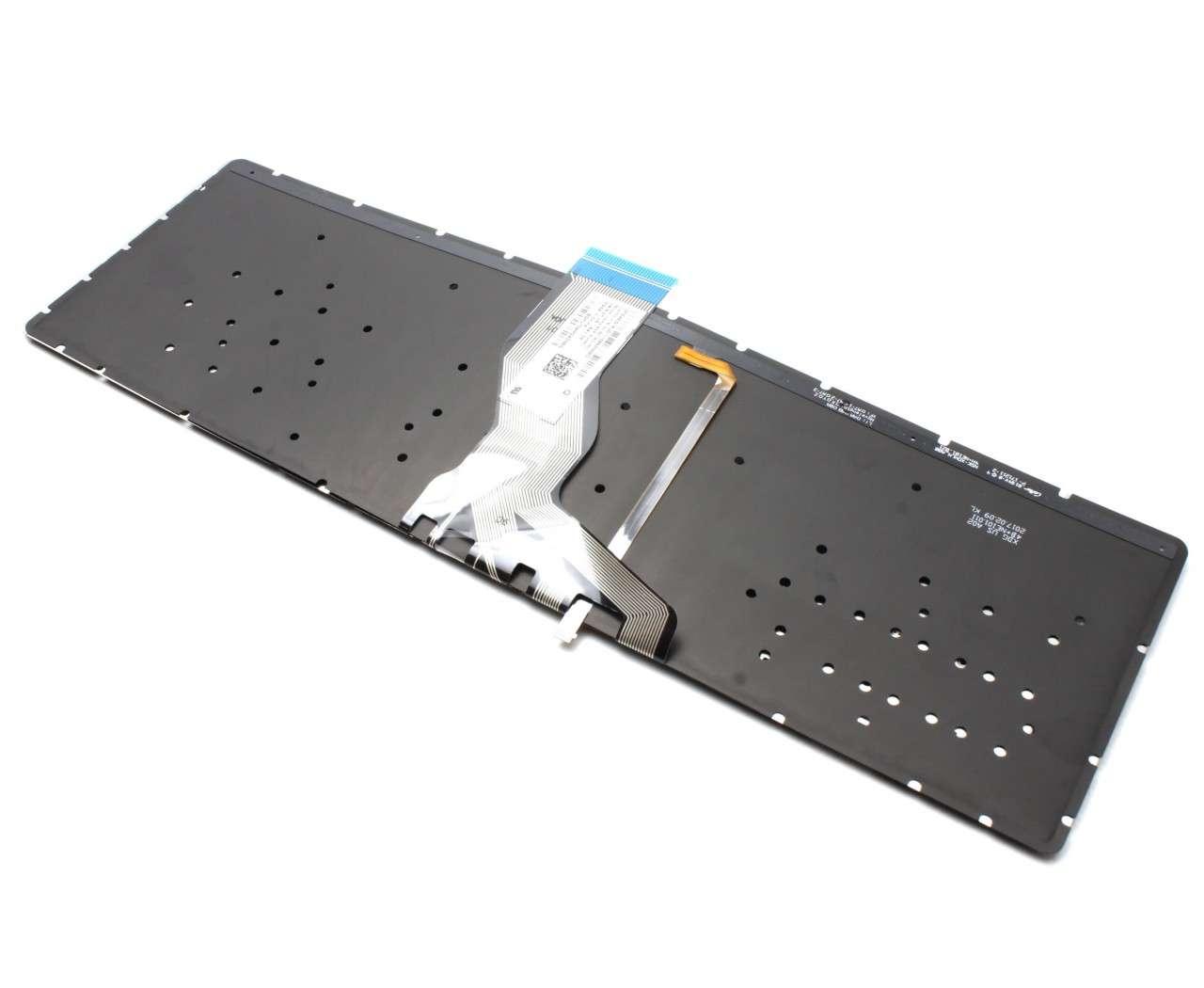 Tastatura Neagra HP Pavilion 255 G6 iluminata verde layout US fara rama enter mic imagine powerlaptop.ro 2021