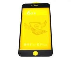 Folie Protectie 6D Apple Iphone 6S Plus. Folie Securizata 6D Apple Iphone 6S Plus Neagra