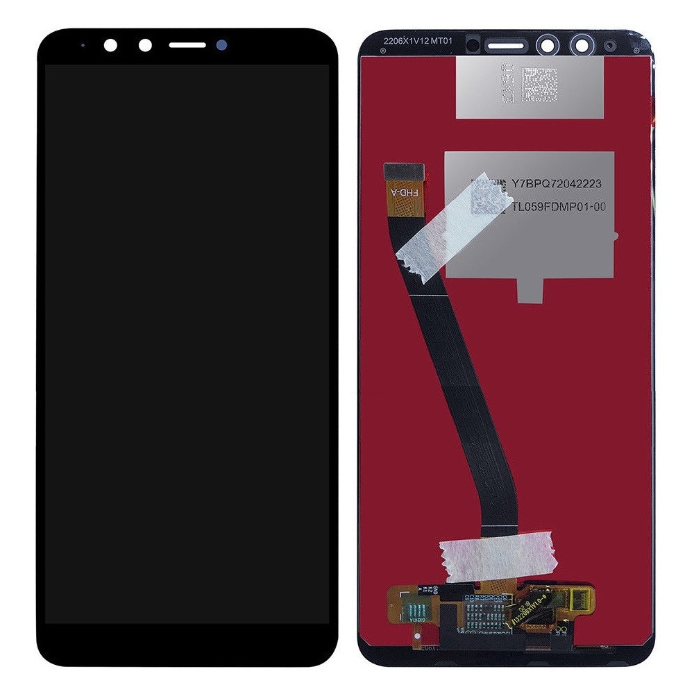 Display Huawei Y9 2018 FLA L22 Black Negru imagine