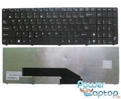 Tastatura Asus  K61IC. Keyboard Asus  K61IC. Tastaturi laptop Asus  K61IC. Tastatura notebook Asus  K61IC