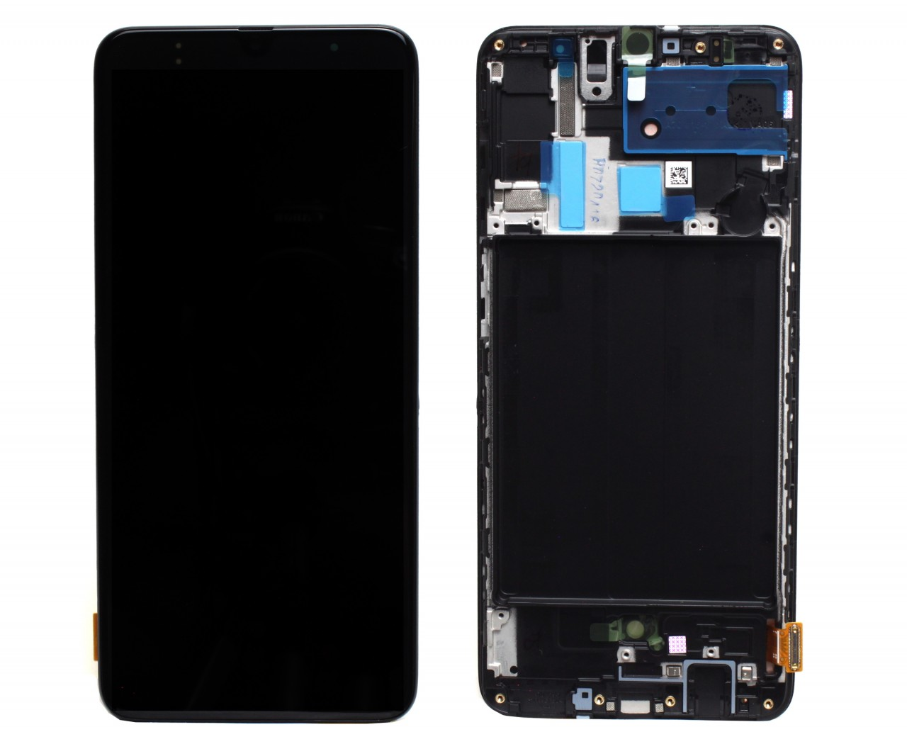 Display Samsung Galaxy A70 A705 Display Original Black Negru