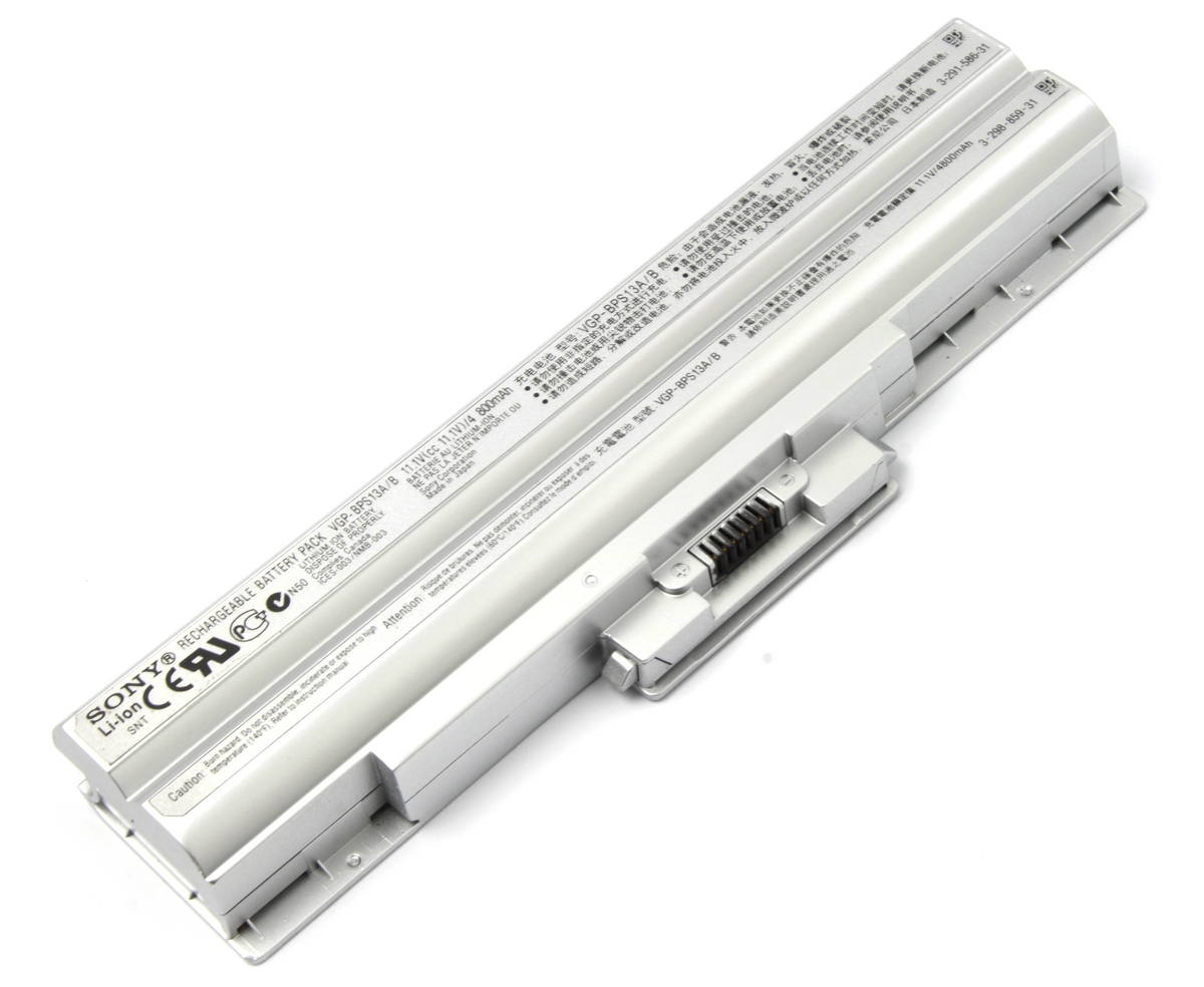 Baterie Sony Vaio VGN FW21L Originala argintie imagine