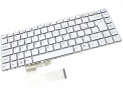 Tastatura Sony 148738321 alba. Keyboard Sony 148738321. Tastaturi laptop Sony 148738321. Tastatura notebook Sony 148738321