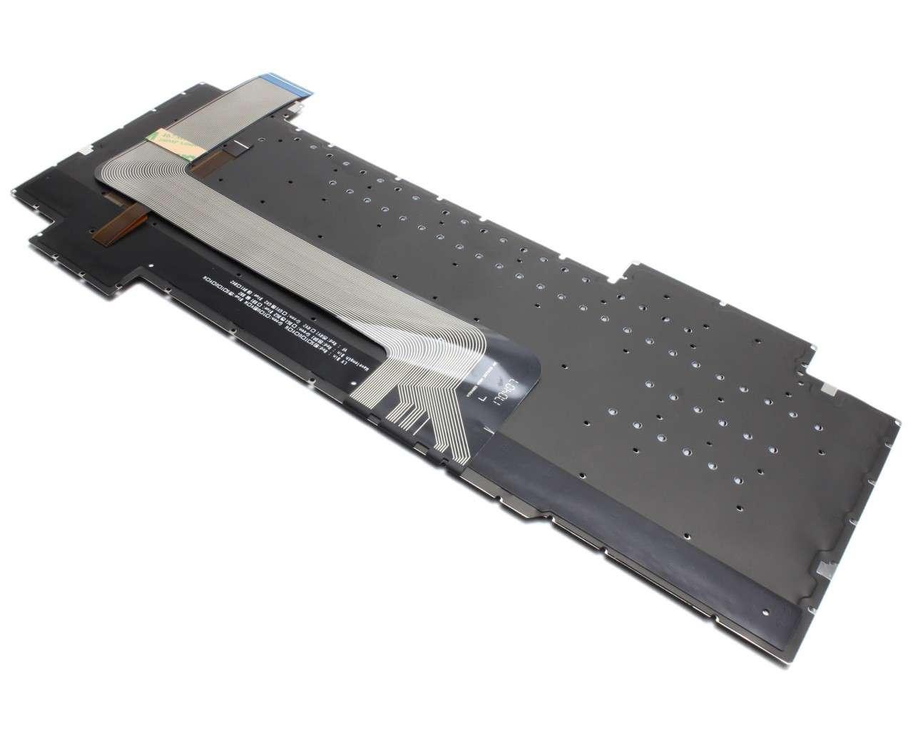 Tastatura Asus Asus ROG Strix GL703VD iluminata layout US fara rama enter mic imagine
