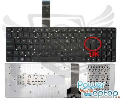 Tastatura Asus  K55. Keyboard Asus  K55. Tastaturi laptop Asus  K55. Tastatura notebook Asus  K55